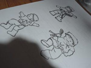 手描きイラスト
