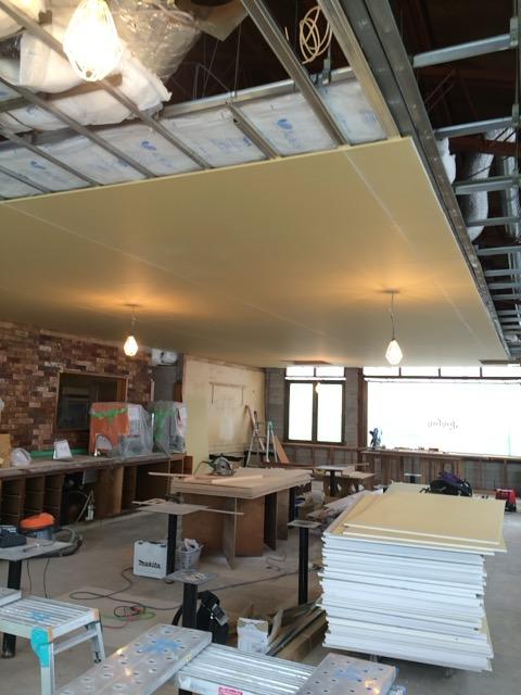 店舗改装天井