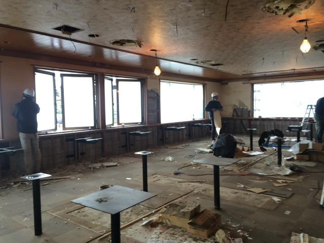 飲食店解体