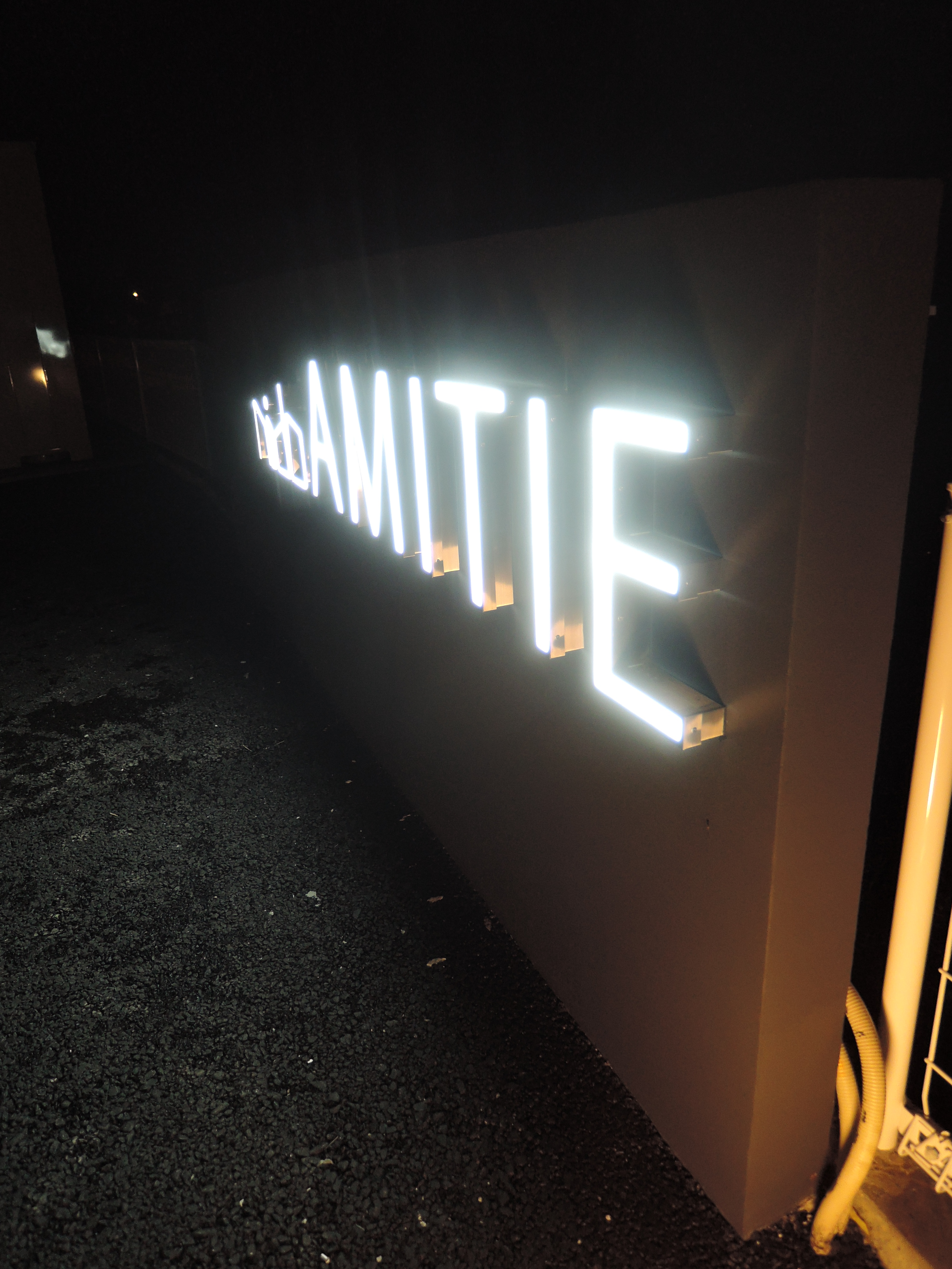 LEDマンション銘板